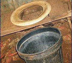bucket toilet image