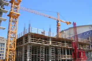 Construction cranes
