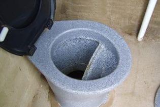 Urine diversion toilets installed by eThekwini Municipality. Photo: WRC